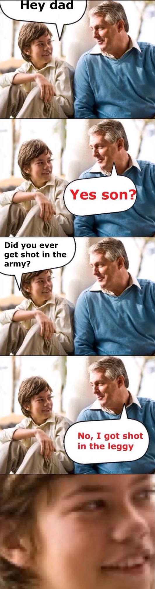 funny-dad-son-pun-army