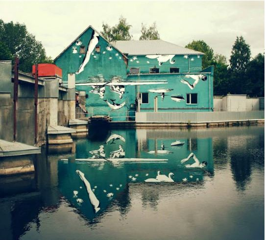 funny-house-water-reflection-art