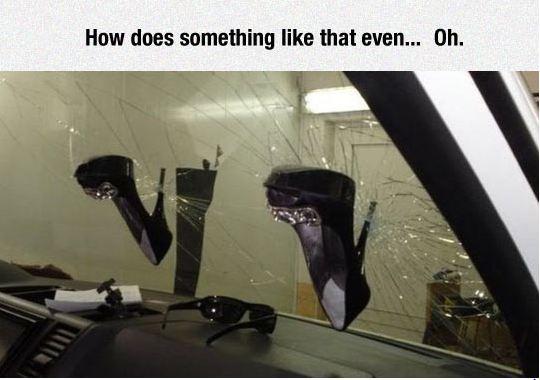 funny-shoes-girl-car-window-break