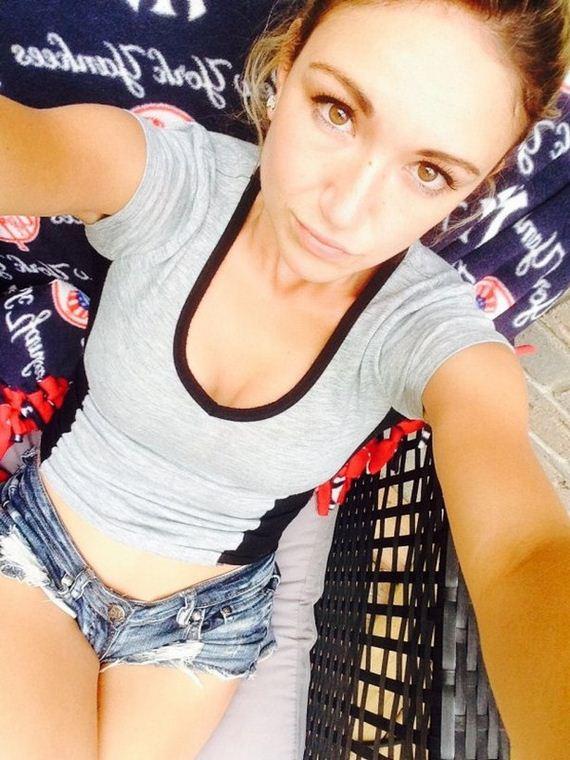 Girl hot short