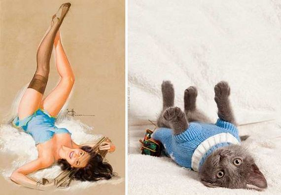 13-pinup_girl_cats