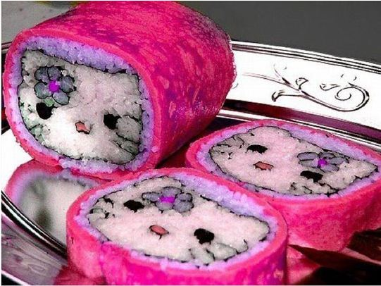 cool-hello-kitty-sushi-rolls