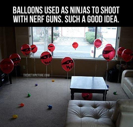 cool-red-ballons-ninjas-games