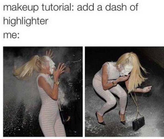 Funny Makeup Struggles