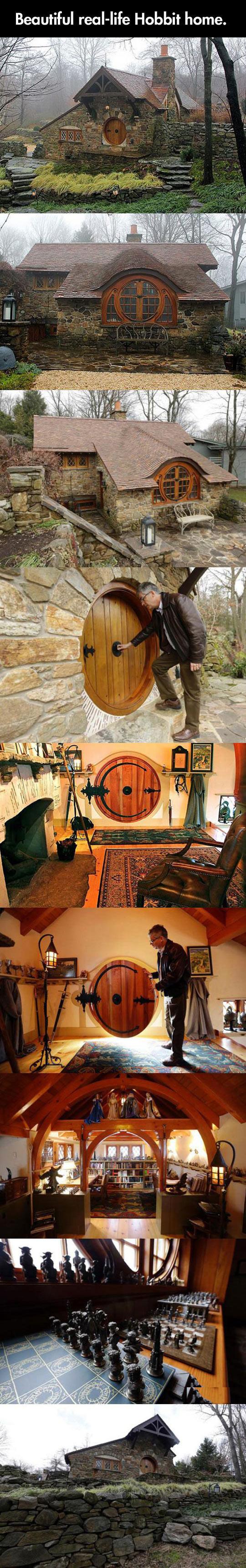 real life hobbit house barnorama