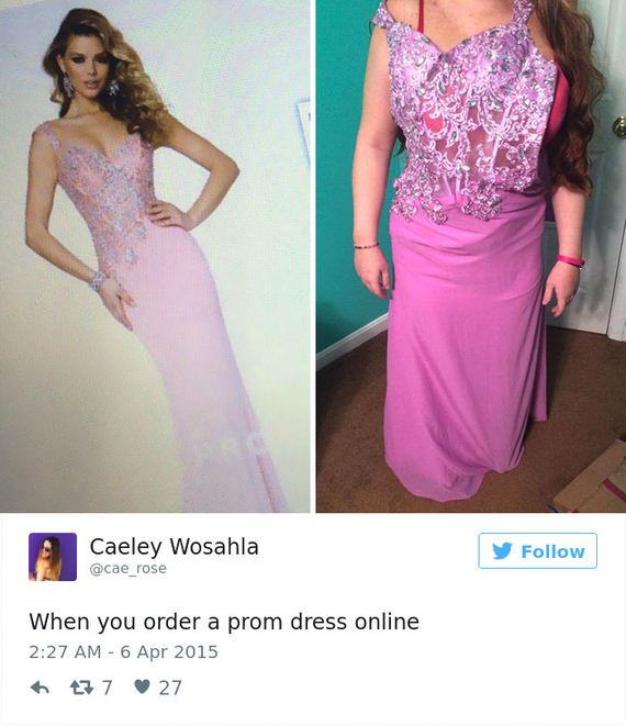 Teens Are Sharing Prom Dresses They Regret Buying Online Barnorama