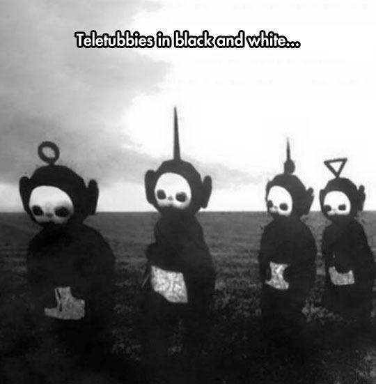 They Look Totally Demonic Barnorama