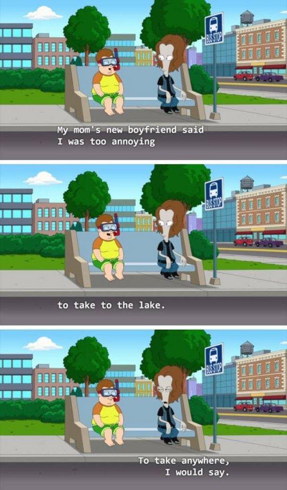 Coffee And Cars >> American Dad Jokes - Barnorama