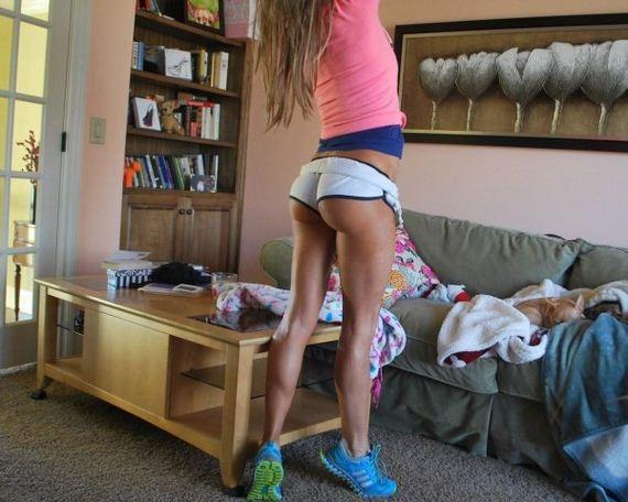 Teen Ass In Short Shorts 62