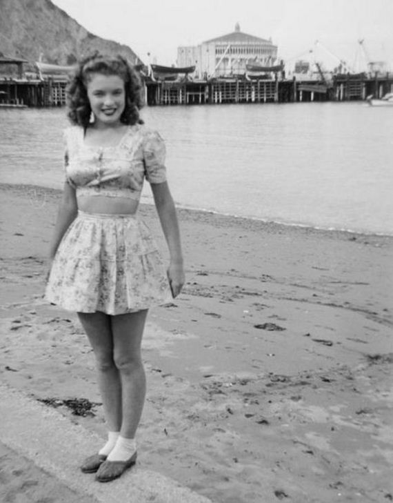 Rare Photos Of Marilyn Monroe Before She Became Famous - Barnorama-8430