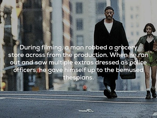 Amazing Facts About The Brutal Yet Beautiful Film Léon: The Professional