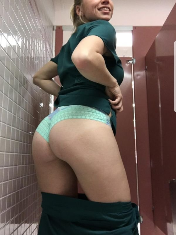 Sexy girls at work