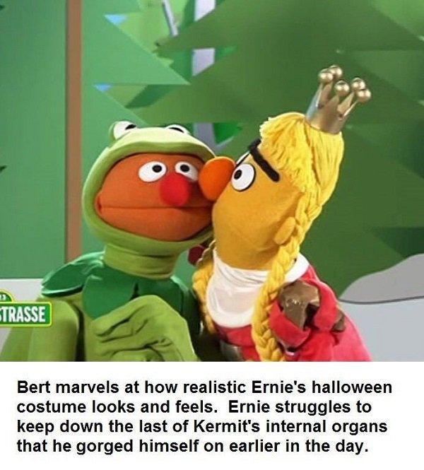 Funny Muppet Meme: The Darke Side Of 'Sesame Street'