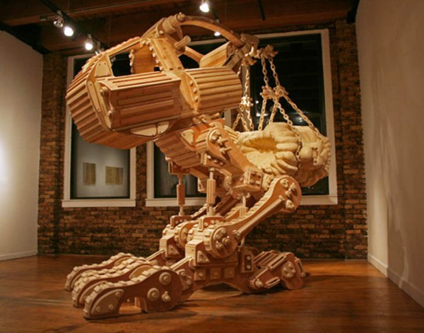 Amazing Things Carved From Wood Barnorama