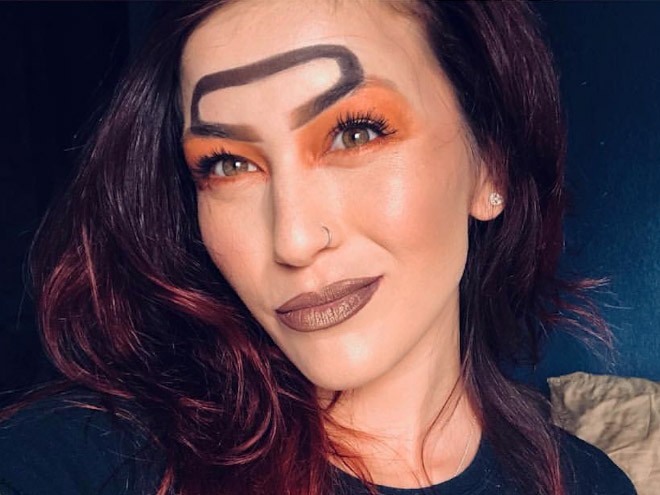 Latest Beauty Trend Halo Eyebrows Barnorama