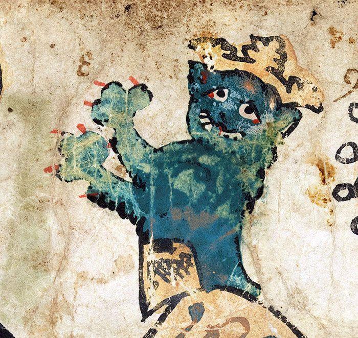 Medieval Cat Paintings Barnorama