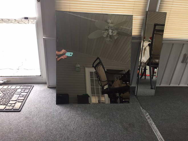 Looking At People Trying To Sell Mirrors Is My New
