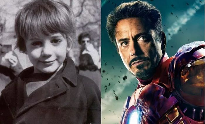 Avengers Stars When They Were Kids