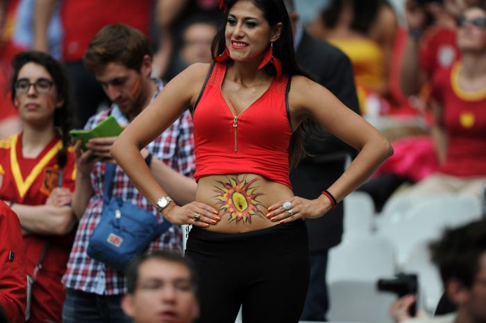 Hot Fans Of The 2018 World Cup Barnorama