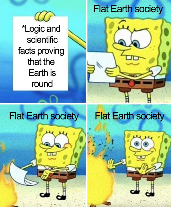 People Are Trolling Flat Earthers With Hilarious Memes