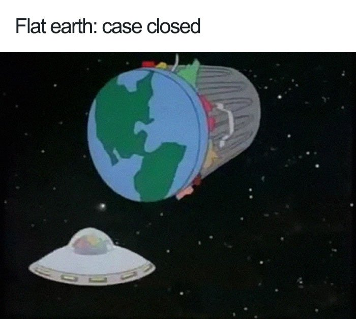People Are Trolling Flat-Earthers With Hilarious Memes