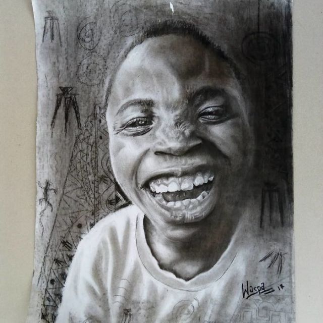 11-Year-Old Kid From Nigeria Creates Hyperrealistic