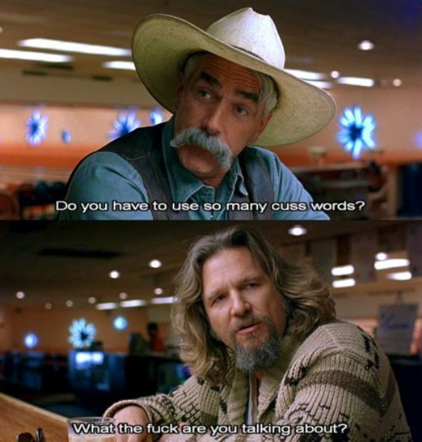 Big Lebowski Quotes The Best Quotes From 'The Big Lebowski' Movie   Barnorama Big Lebowski Quotes