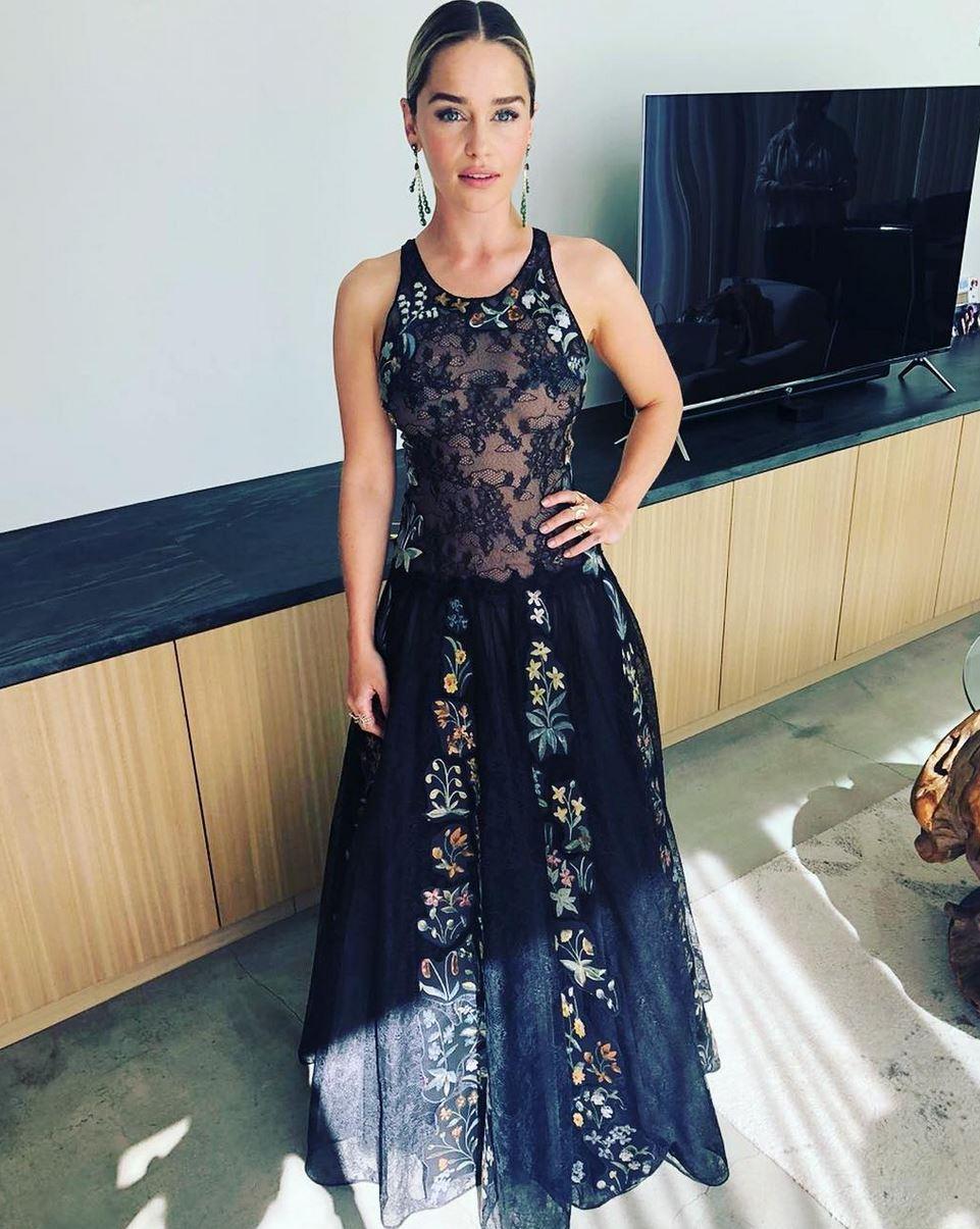 Emilia Clarke Emmys 2018 - Barnorama