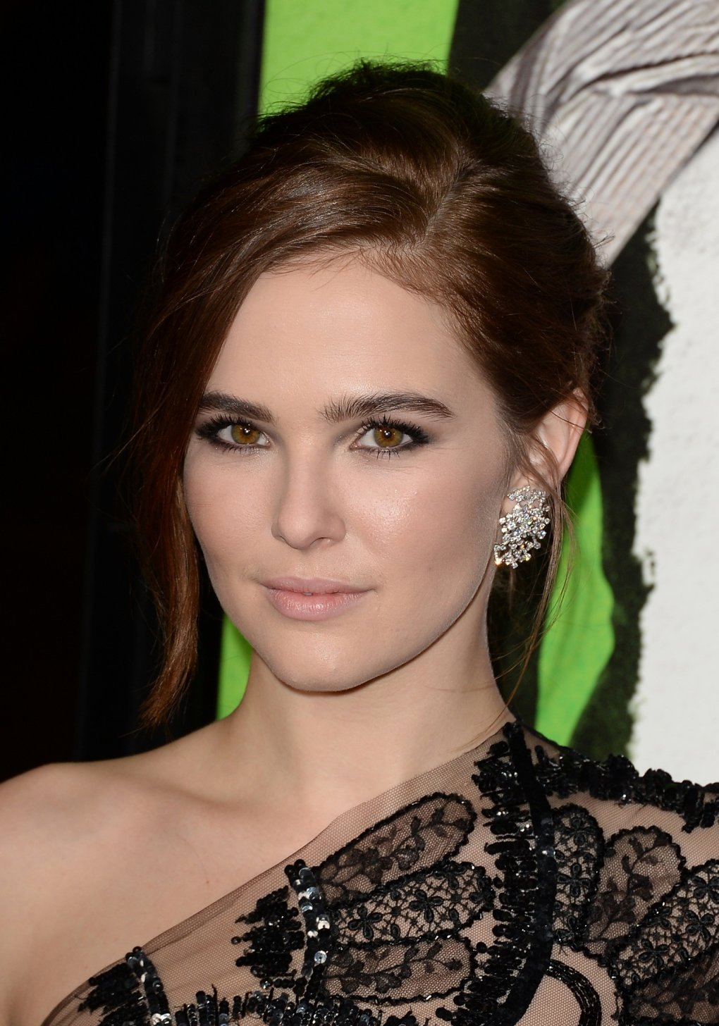 ZOEY DEUTCH at Warner Bros. Pictures & Instyles 18th