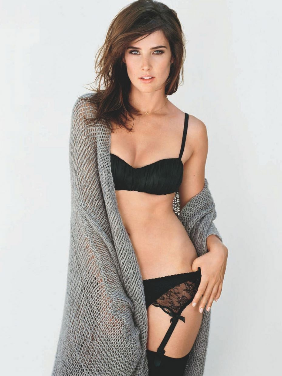 Cobie Smulders In Stockings Barnorama
