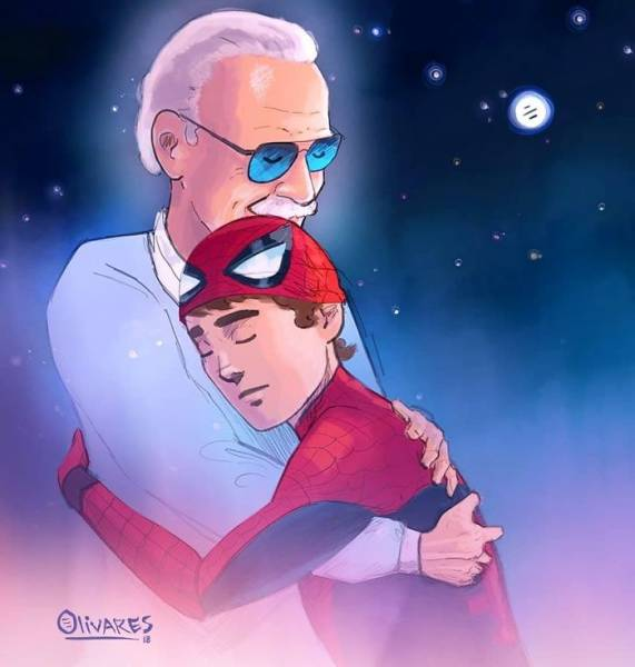 45 Absolutely Breathtaking Tributes To Stan Lee Barnorama