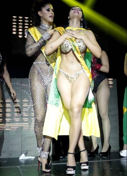 Brazilian Miss Bumbum 2018 Contest Barnorama