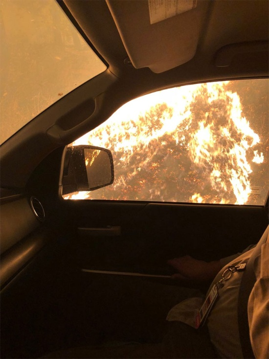 Toyota Truck Helped A Nurse Save Lives In California Fire ...