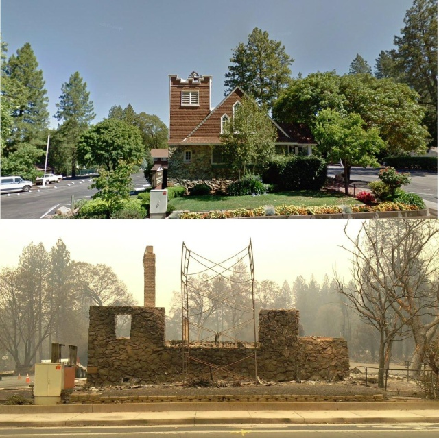 California Before Vs After The Wildfire Barnorama