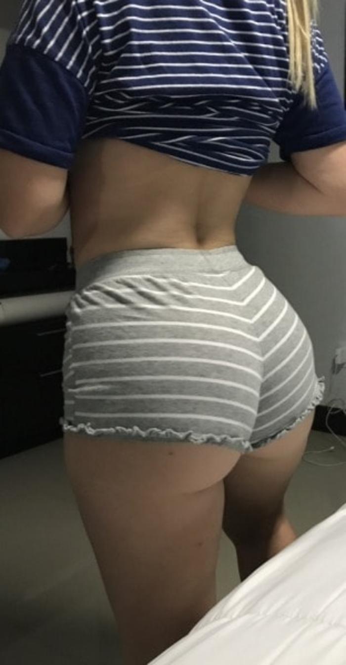 Girl In Hotpants