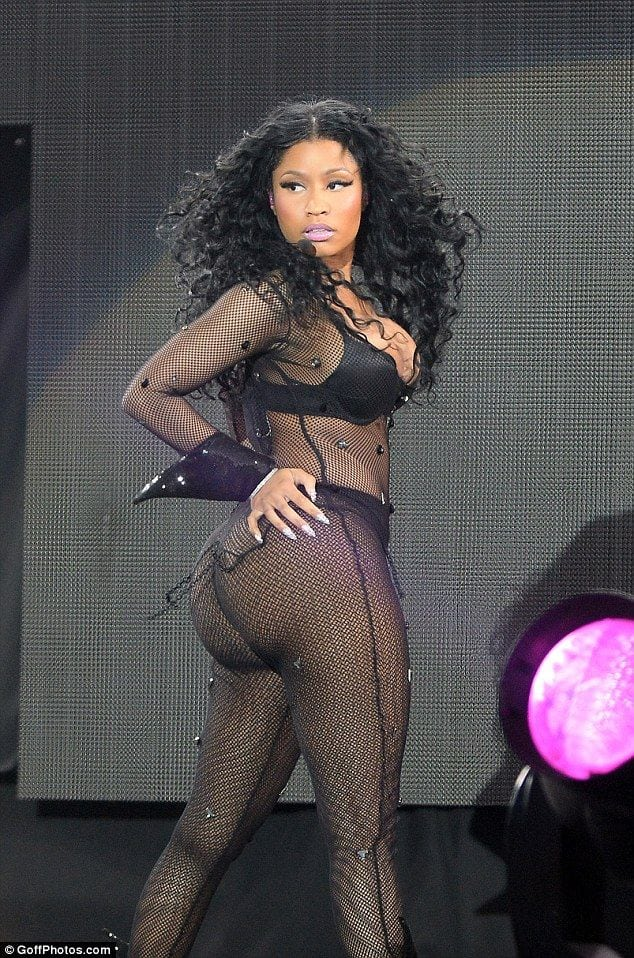 Nicki big butt