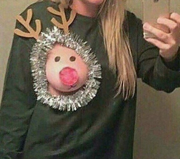 Mammary Christmas From These Reindeer Boobs - Barnorama-5323