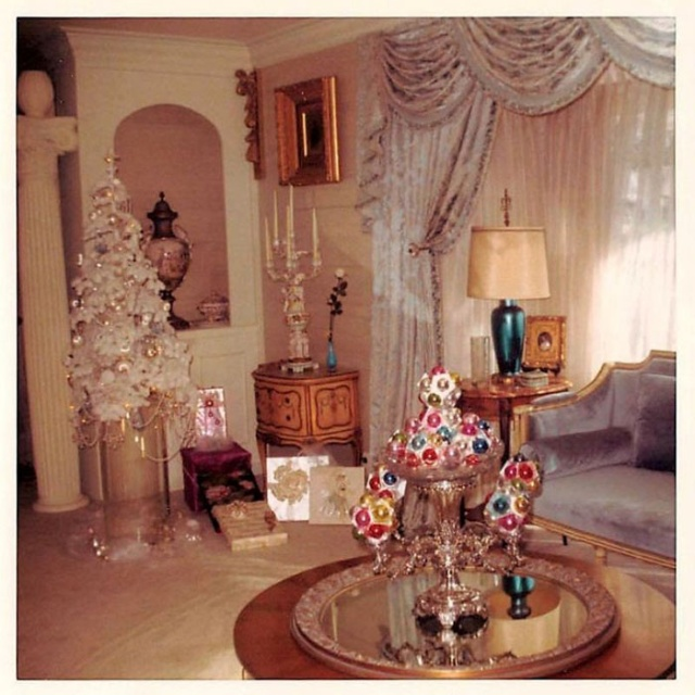 Christmas Decor For Home: 30 Photos Of Christmas Home Decor In The 50s And 60s