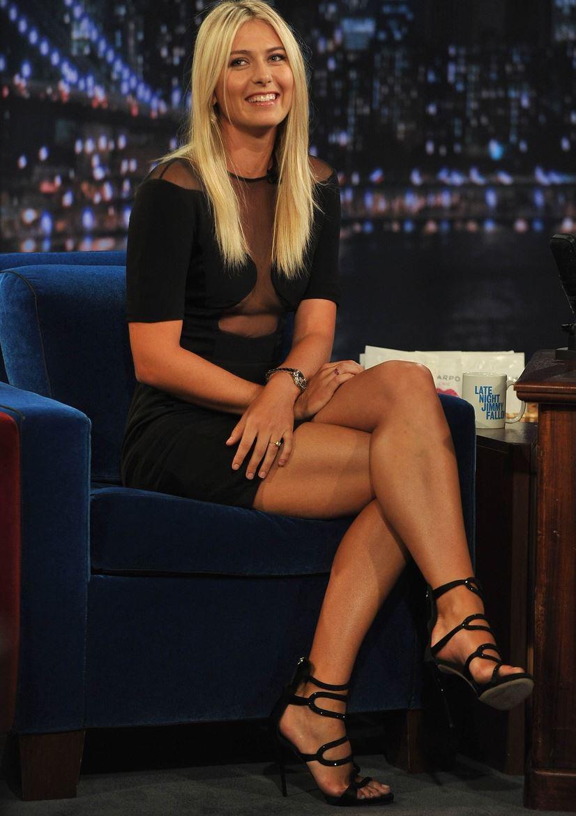 Sharapova sexy maria Top 15