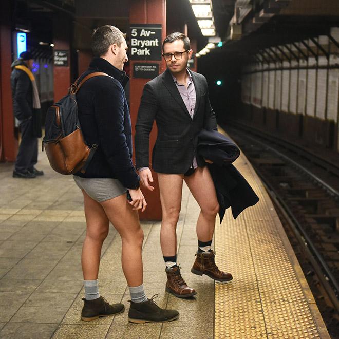 16th Annual No Pants Subway Ride