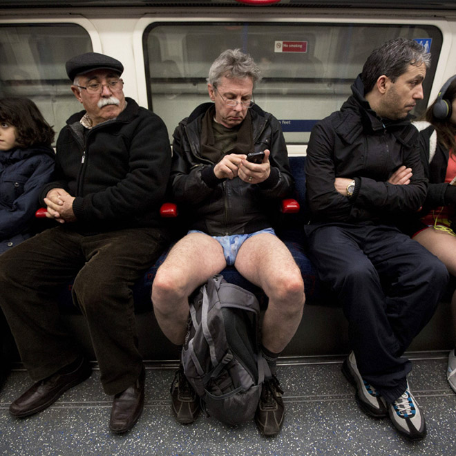 The No Pants Subway Ride Returns to Boston This Weekend