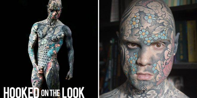 School Teacher Tattoos His Entire Body Barnorama