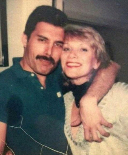 Freddie Mercury With Mary Austin, The Woman He Described