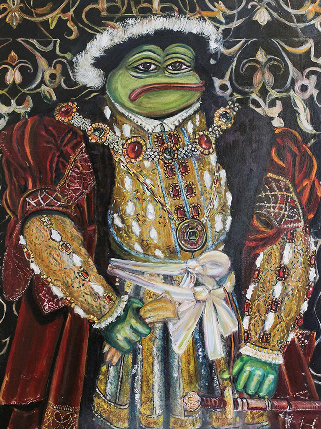 Russian Artist Turns Pepe The Frog Into Masterpiece