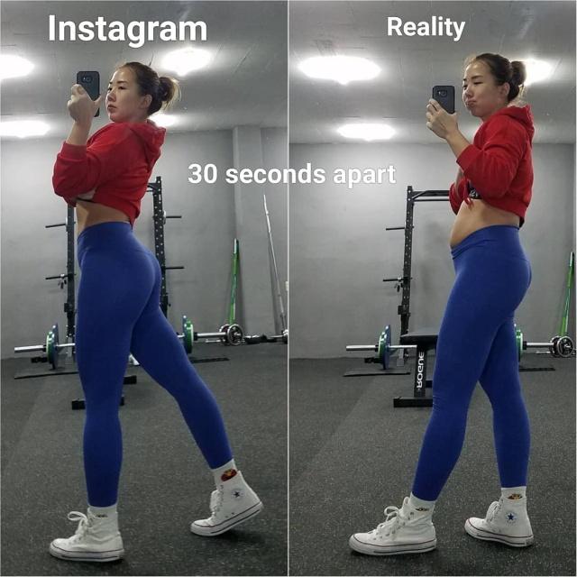 Instagram Vs Reality Barnorama