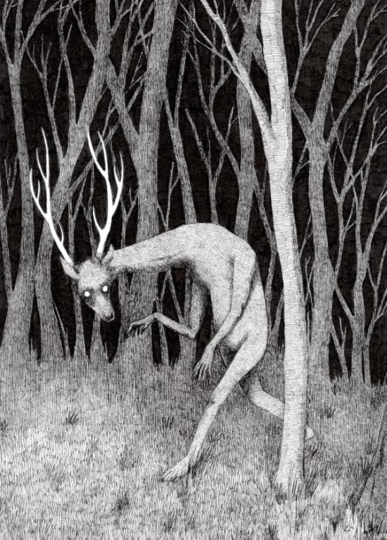 Awesome And Creepy Art By Kat Philbin Barnorama