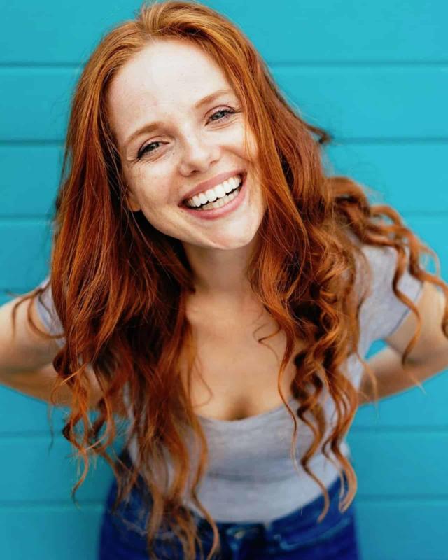 Redhead Cute
