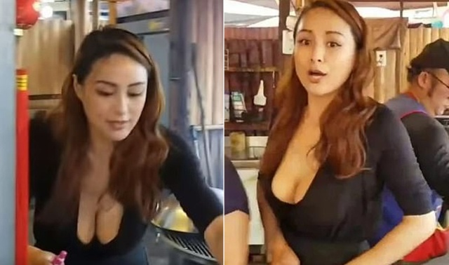 Tourists Love Busty Barbecue Goddess From Taiwan Barnorama