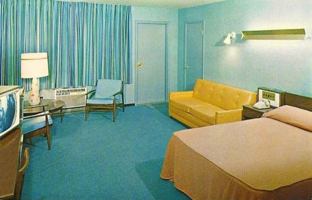 30 Photos Show Hotel And Motel Rooms Of The 1950s 60s