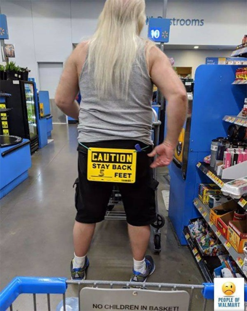 Walmart House: 33 Photos Of Weird And Strange Walmart Fashion